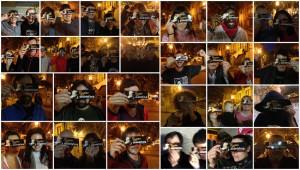 Algunas de las personas que pasaron por la barra de AraInfo el pasado año. Foto: AraInfo