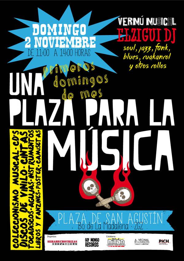"""Nueva cita con el coleccionismo musical en """"Una plaza para la Música"""""""