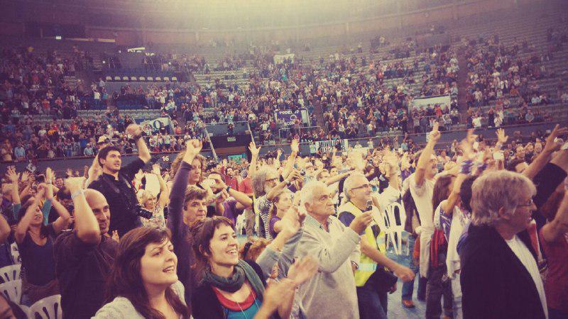 Podemos cierra la Asamblea Ciudadana debatiendo su estrategia política