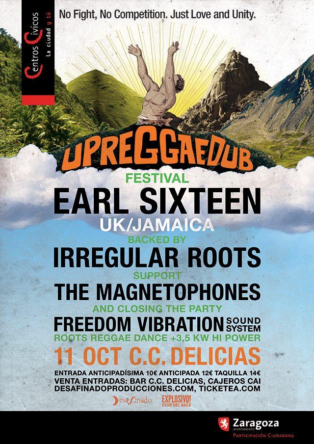 Noche jamaicana en Pilares con el Up Reggae Dub Festival