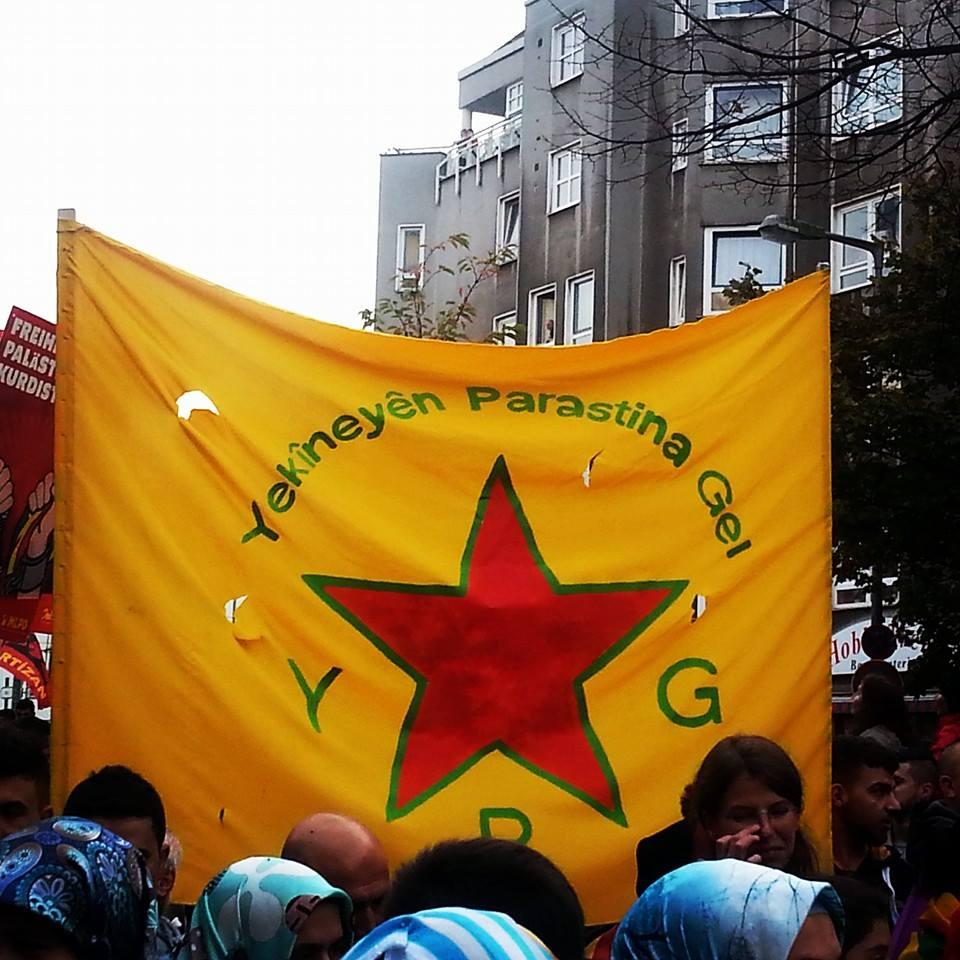Berlín con Kobanê, contra el terror de Estado Islámico