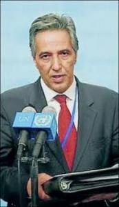 Bujari Ahmed, representante del Frente Polisario.