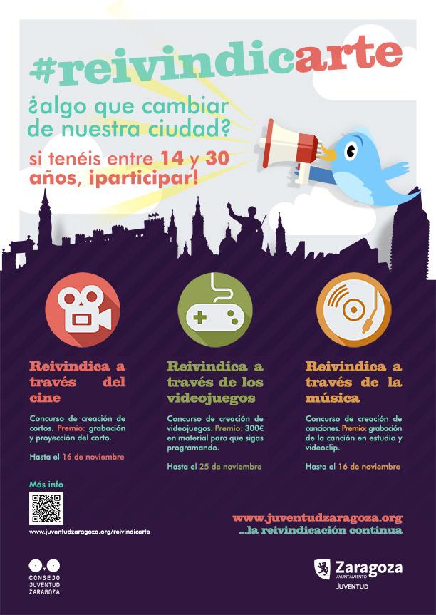 El Consejo de la Juventud de Zaragoza reivindicará un nuevo modelo de ciudad a través del arte