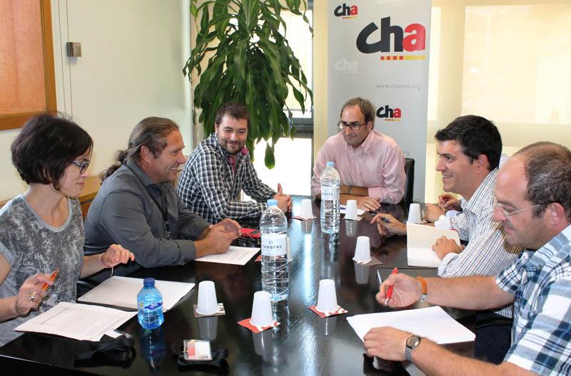 Primavera Europea llevará al Europarlamento la problemática del campo aragonés