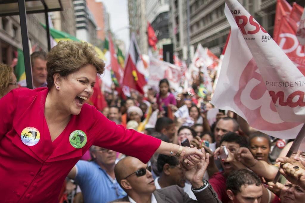 Dilma Rousseff gana en Brasil el cuarto mandato del PT con el 51,64% de los votos