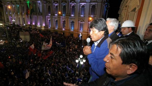 Evo Morales es reelegido presidente de Bolivia con el 60% de los votos