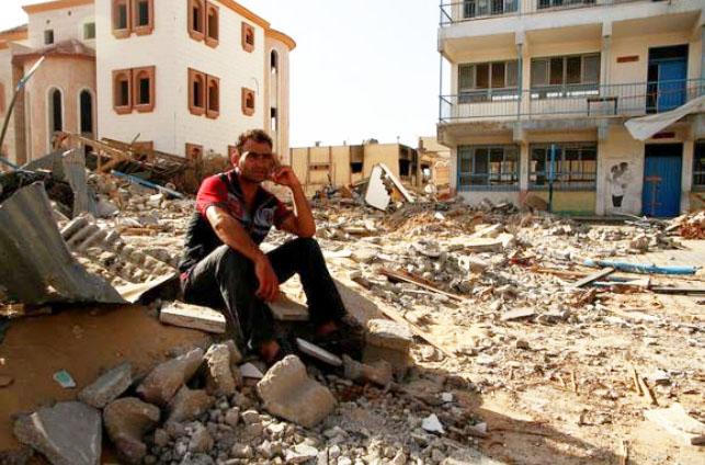 Testimonios de dolor y esperanza en Gaza: «No vamos a abandonar esta tierra»