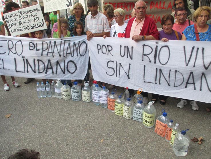El Movimiento LindaNO critica la pasividad del Gobierno de Aragón