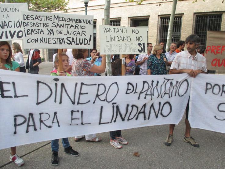 La Coordinadora Biscarrués indignada ante el anuncio de la CHE de adjudicación del proyecto del pantano