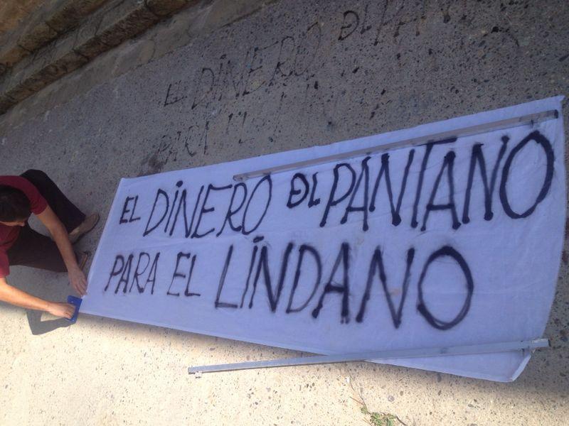 La Coordinadora de Biscarrués y Coagret llaman a concentrarse en Zaragoza contra la contaminación por lindano del Galligo