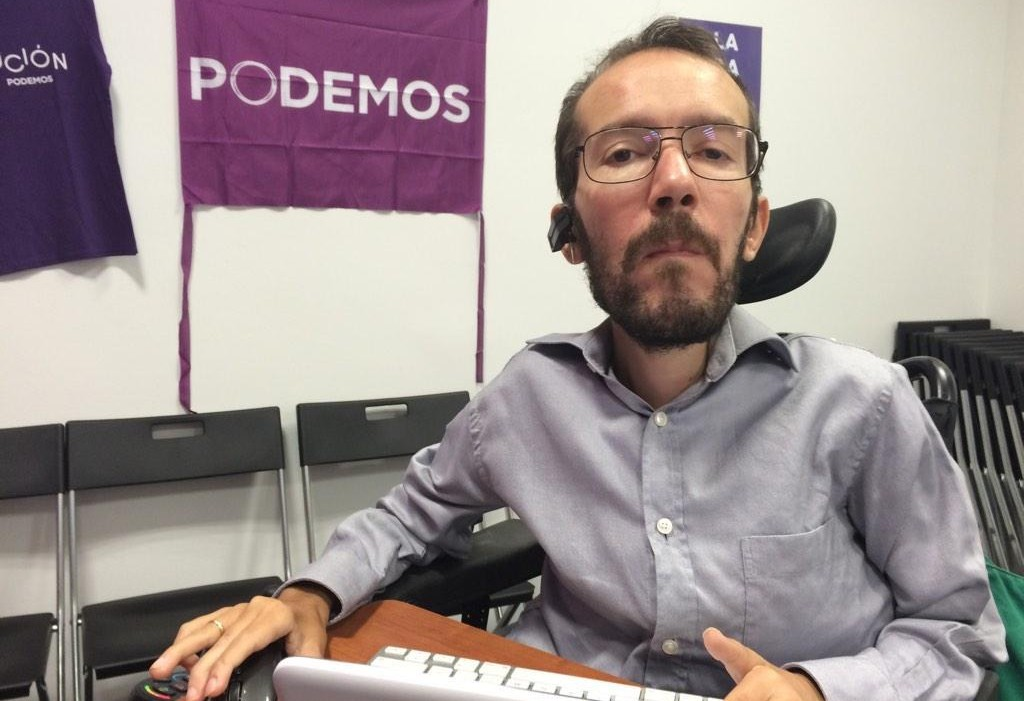 """Pablo Echenique: """"Una suma de siglas es vieja política y no vamos a participar de tal cosa porque ese tiempo ya pasó"""""""