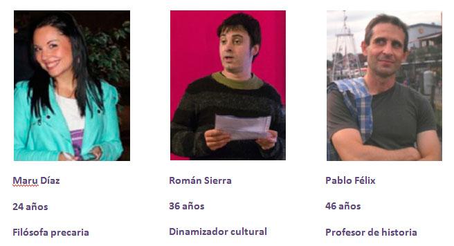 Maru Díaz, Pablo Félix y Román Sierra elegidos como nuevos portavoces de Podemos Zaragoza