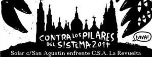 Cartel del CSA La Revuelta.