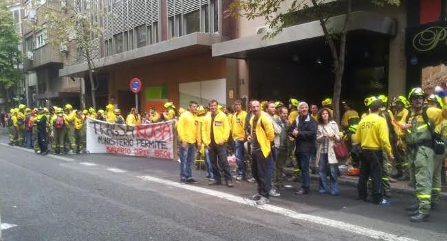 Éxito de convocatoria en la huelga de las BRIF