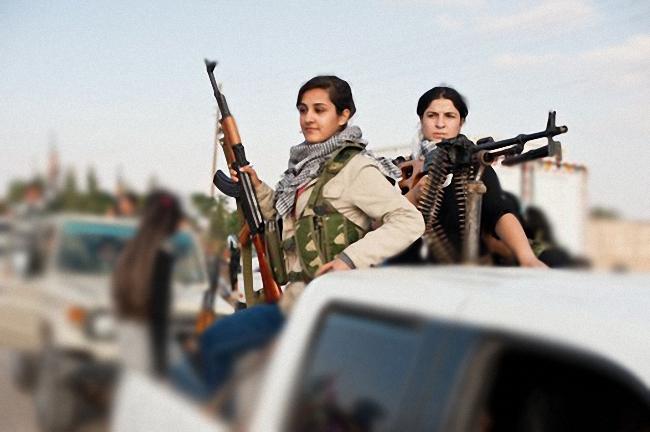 Solidaridad con los kurdos de Kobane