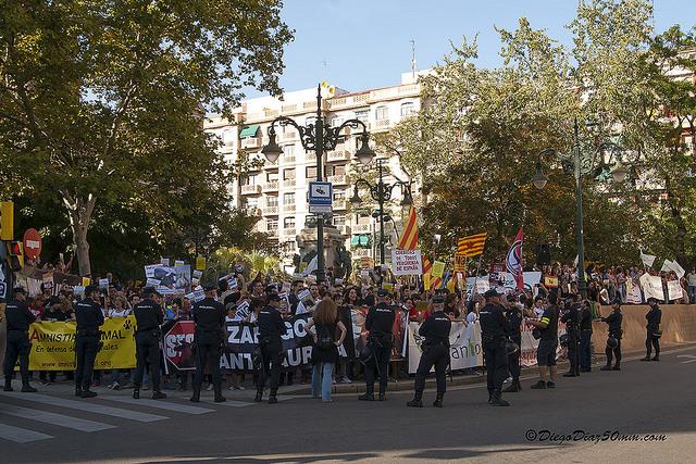 3.500 personas exigen el final del maltrato animal