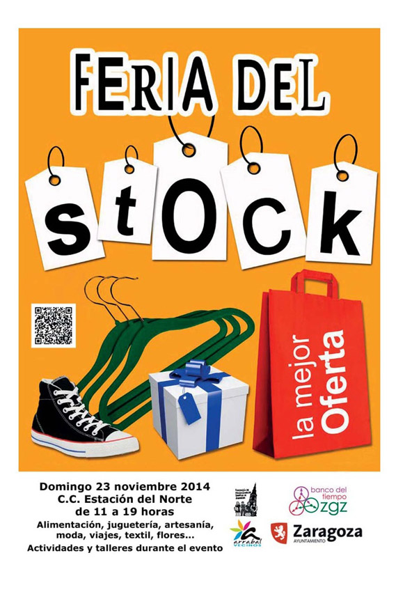 El Arrabal acoge la primera Feria del Stock en apoyo al comercio de proximidad