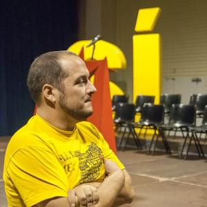 David Fernàndez (CUP). Foto: Diego Díaz (AraInfo)
