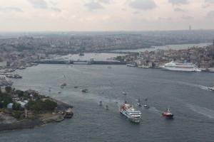 La Flotilla de la Libertad. Foto: Rumbo a Gaza