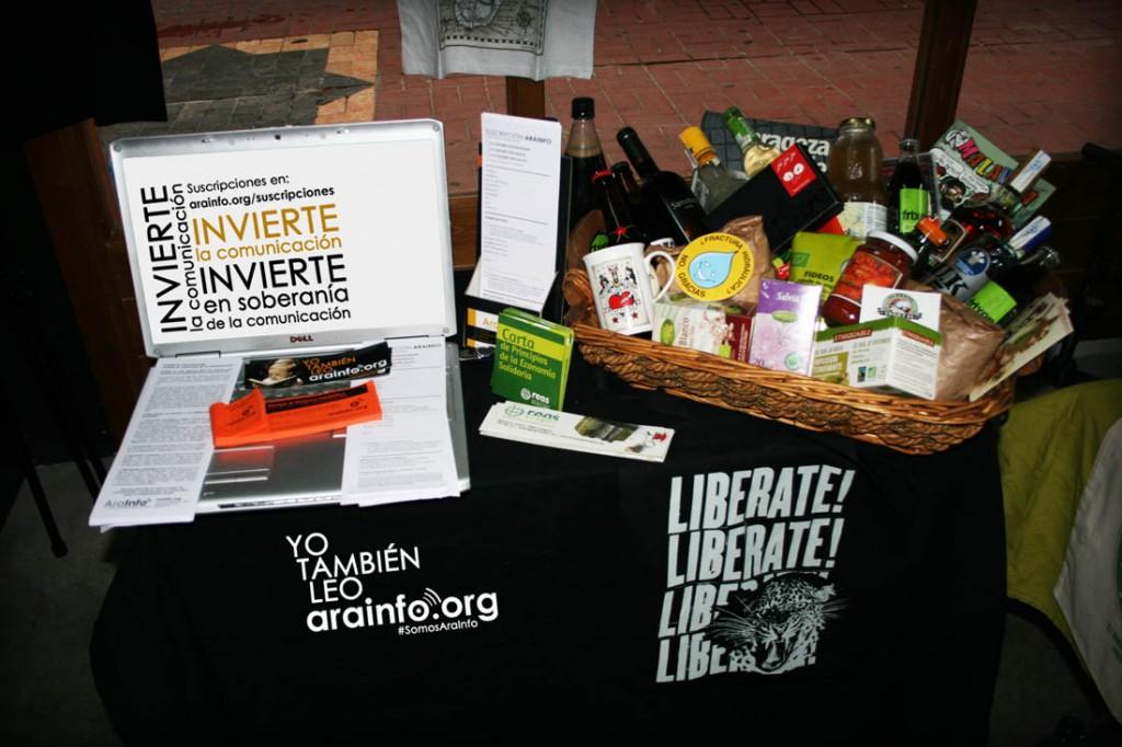 Vuelve el sorteo de la cesta solidaria de AraInfo