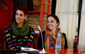 Martha Asunción Alonso y Laura Casielles.