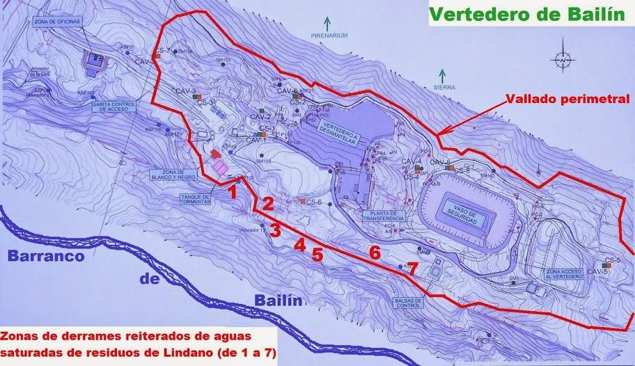 Ecologistas en Acción cuestiona la eficacia de la limpieza de lodos con lindano del  barranco de Bailín en el Galligo