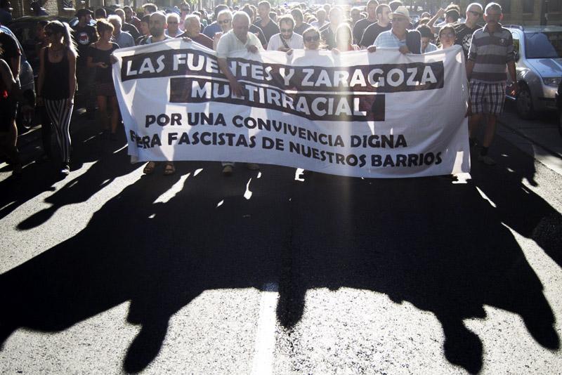 """La FABZ y Noviembre Antifaixista llaman a participar en la manifestación """"Barrios unidos contra el fascismo"""""""