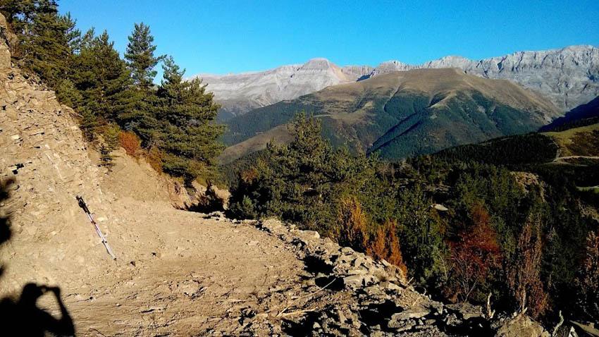 El paisaje del valle de Otal en grave peligro