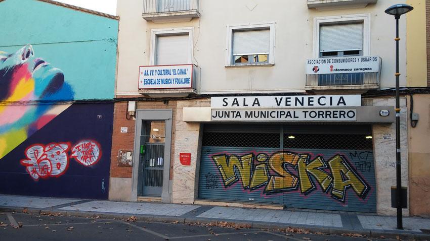 El distrito de Torrero acoge 'Itinerarios', una perfomance audiovisual