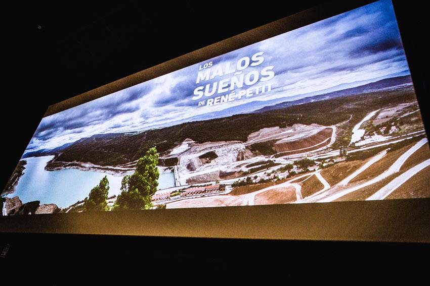 Éxito de las proyecciones del documental 'Los malos sueños de Rene Petit' en Iruñea