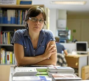 La economista feminista Amaia Pérez Orozco. Foto: Economía Critica