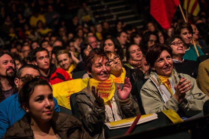 La CUP tanca la campanya del 9N amb actes a Perpinyà i Barcelona