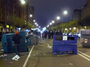 La especulación urbanística vuelve a convertir las calles de Burgos en un campo de batalla