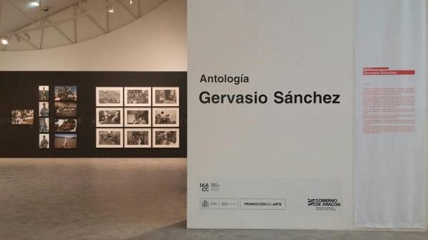 Gervasio Sánchez expone en el Pablo Serrano lo mejor de su obra recogida en 'Antología'