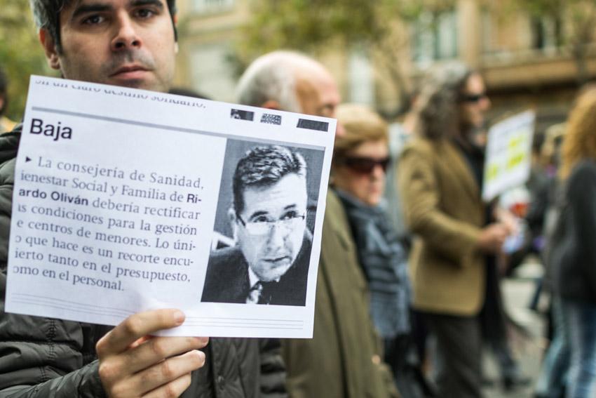 CGT e IU se solidarizan con la plantilla del COA y critican duramente a Oliván