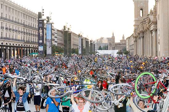 Zaragoza, la ciudad de las bicis
