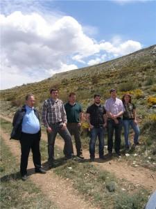 Miembros de la Red de visita en Exulv