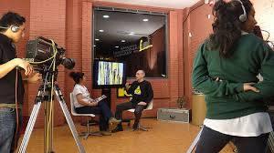 Estudio de Tele K en Vallecas.