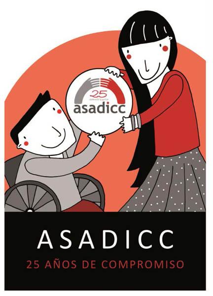 Caspe acoge la presentación del libro 'ASADICC 25 años de Compromiso'