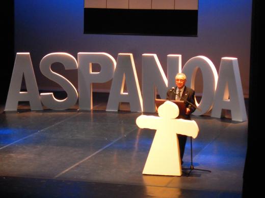 CHA entregará a Aspanoa el premio a la Defensa de los derechos y libertades de Aragón