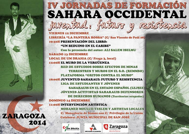 Um Draiga organiza este fin de semana en Zaragoza unas jornadas sobre el Sahara Occidental