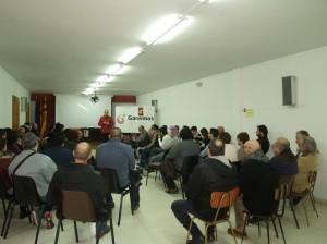 Imagen del encuentro de este domingo. Foto: @GanemosTeruel