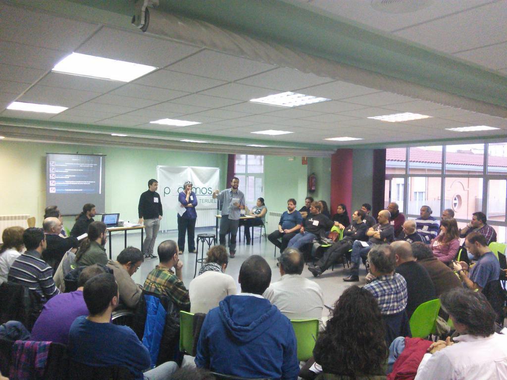 Las instituciones a debate en los talleres de octubre de Podemos Teruel