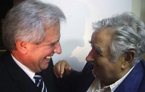 Tabaré Vázquez tomará el relevo de José Mujica y promete no defraudar