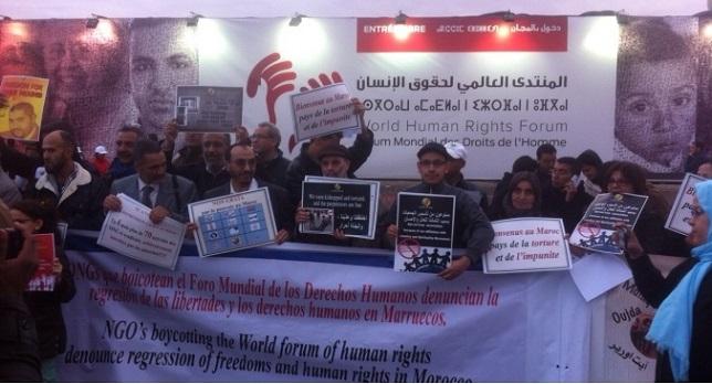 Las mayores ONG marroquíes boicotean el Foro Mundial de Derechos Humanos de Marrakech
