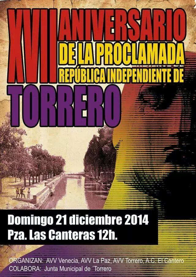 XVII Aniversario de la proclamada República Independiente de Torrero