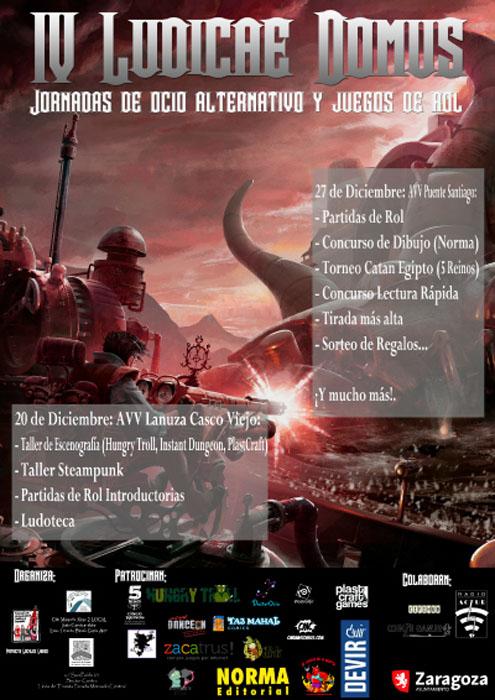 """El proyecto 'Locales Libres' organiza la IV edición de las jornadas """"Ludicae Domus"""""""