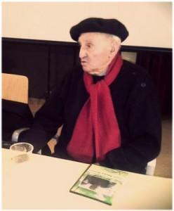 Lucio Urtubia durante la entrevista con AraInfo el pasado 12 de diciembre. Foto: @arainfonoticias