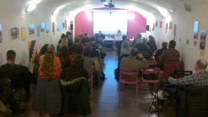 El acto se celebró en La Pantera Rossa. Foto: Mambrú