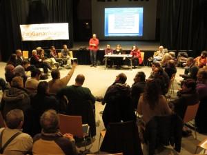 Imagen del Encuentro del sábado 20 de diciembre. Foto: Para Ganar Aragón
